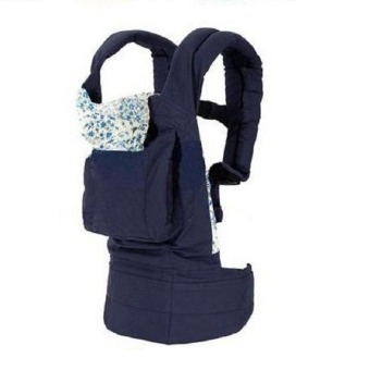 Cotton Baby Carrier(navy blue)