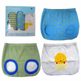 Cotton Club Baby Diaper Cover for Boy w/ Chick Design-Size-XL