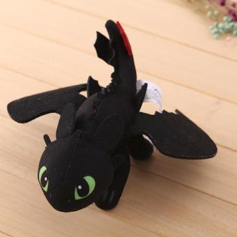 Cotton How To Train Your Dragon Toothless Plush Stuffed Toy Soft Warm Doll 23cm - intl