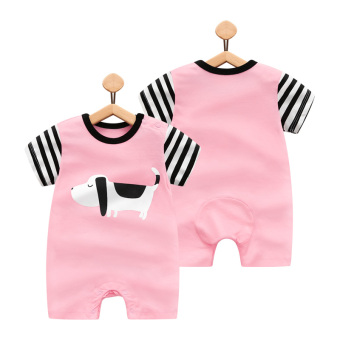 Cotton newborns one-piece thin baby out clothes