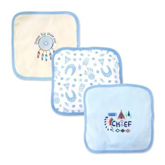Cotton Stuff - 3-piece Washcloth (Little Chief)