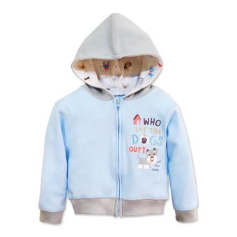 Cotton Stuff - Jacket with Hood (Who Let The Dogs Out) 9-12 Months