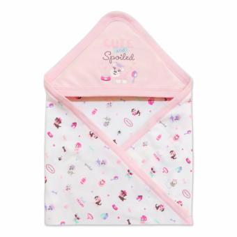 Cotton Stuff - Receiving Blanket with Hood - (Me & My Dog) 0-12 Months Price Philippines
