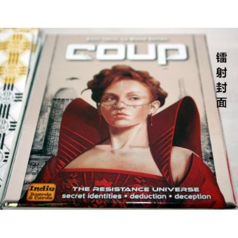 Coup Reformation Board Game 2-6 Players for Party/Family ,English and Chinese Edition Easy To Play Christmas Party Play - intl - picture 2
