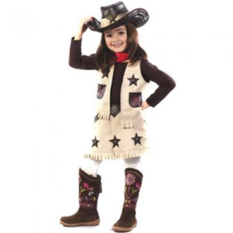 Cowgirl Toddler Costume (Age 5-6 Years Old)
