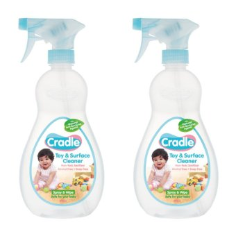 Cradle Toy & Surface Cleaner (500ml x 2pcs) Price Philippines