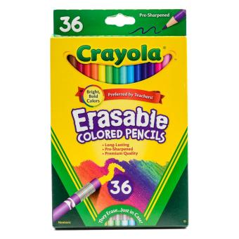 Crayola 36ct Erasable Colored Pencils Price Philippines