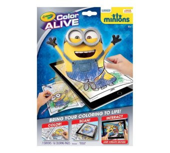 CRAYOLA Color Alive Minions Price Philippines