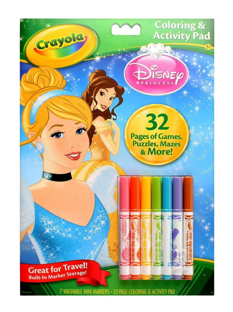 Crayola Mini Colouring Pages Disney