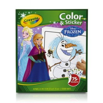 Crayola Frozen Color & Sticker Books Price Philippines