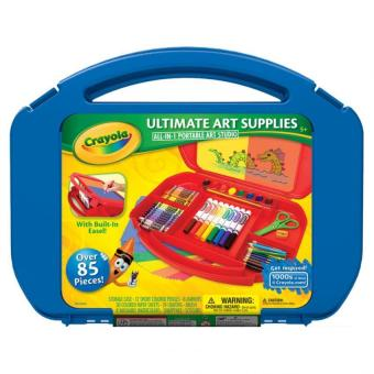 CRAYOLA Ultimate Art Supplies Kit (Blue) Price Philippines