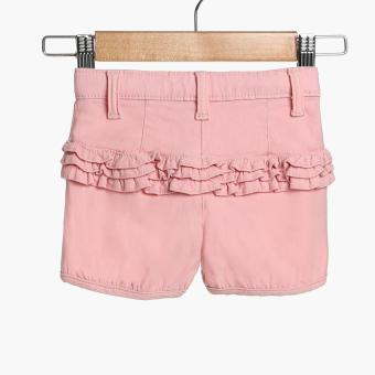Crib Couture Baby Girls Ruffled Shorts (Pink) - 2