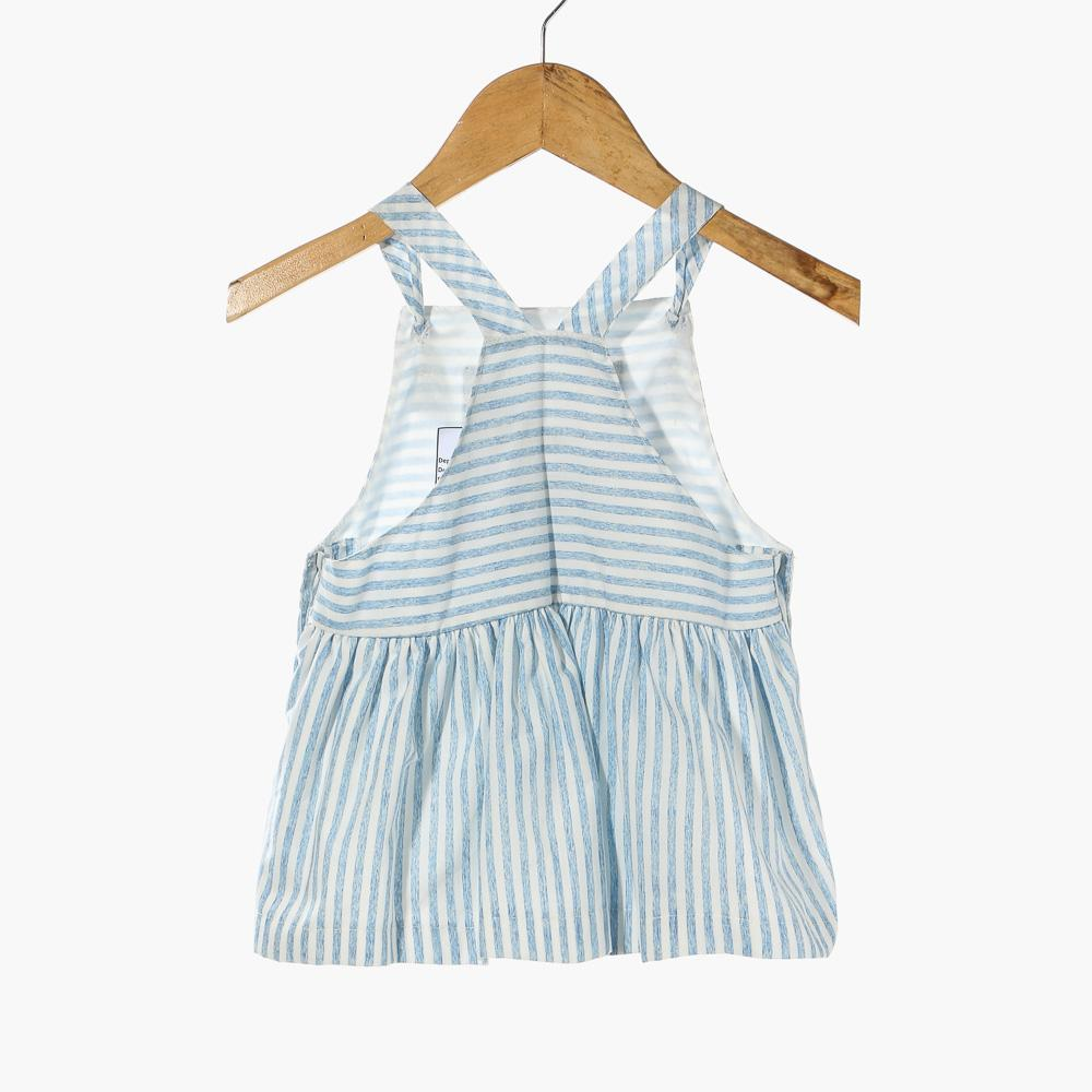Philippines | Crib Couture Baby Girls Striped Jumper Dress (Blue ...