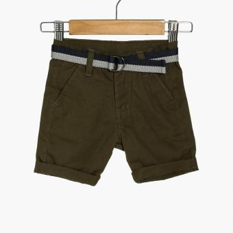 Crib Couture Boys Belted Chinos (Green)