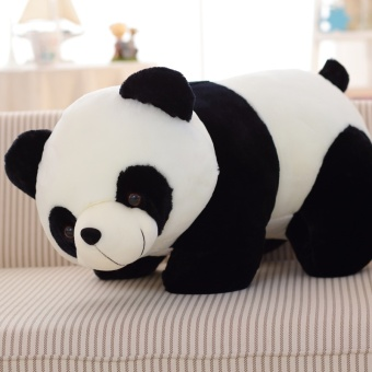 Cute Giant Panda Doll Plush Toy Bear Doll Doll Doll Pillow Child Birthday Gift Send Little Girl(12inches) - intl Price Philippines