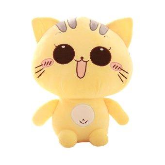 Cute kitty pillow doll size plush toy doll doll BB happy birthday girl-laugh 38cm