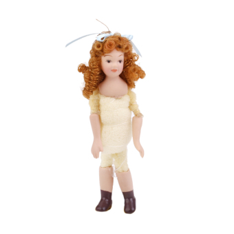 Cute Miniature Baby Girl Doll Decoration