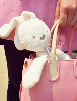 Cute Soft Good Rabbit Bunny Plush Toy Doll For Kids Babys Xmas Gift (Intl) - picture 2