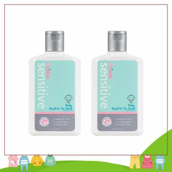 Cycles Sensitive Head-to-Toe Wash (250 mL x 2 pcs)