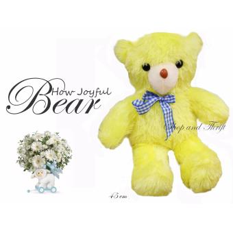 D41 How Joyful Teddy Bear Stuffed Toy 45CM Price Philippines