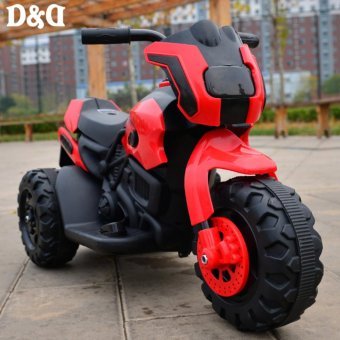 D&D HL8389 Rechargeable electric three-wheeled motorcyclechildren ride-on toys with Music