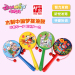 Danniqite cartoon wooden double-sided wooden rattle drum rattle