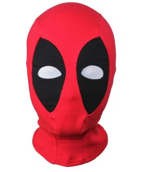 Deadpool Mutant Cosplay Mask Hood Balaclava Face Adjustable forHalloween Party Prop