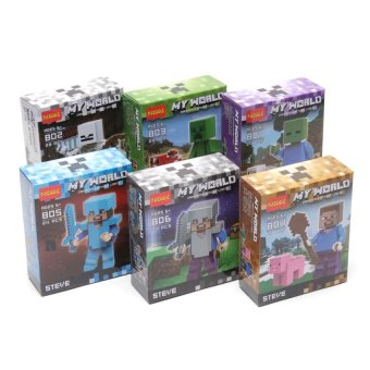 Decool My World Minifigures Blocks Set of 6 Multicolor Price Philippines