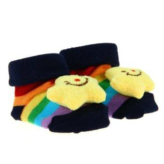 DHS Baby Anti-Slip Socks (Multicolor) (Intl)