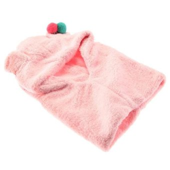 DHS Hooded Neck Warmer Scarf Winter Pink - Intl - picture 2