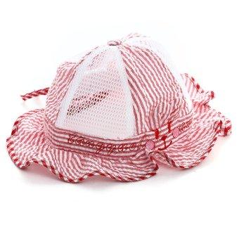 DHS Infant Summer Cap (Red) - Intl