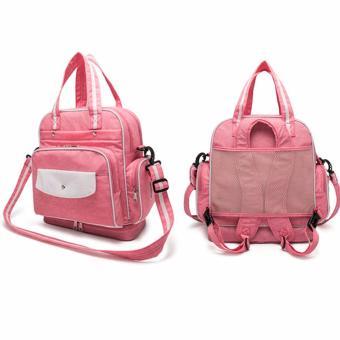 Diaper Bag Mommy Bag Nappy Backpack Changing Bag Shoulder Bag SlingBag Multifunction Baby Bottle Holder Bag - 2