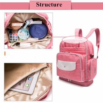 Diaper Bag Mommy Bag Nappy Backpack Changing Bag Shoulder Bag SlingBag Multifunction Baby Bottle Holder Bag - 4