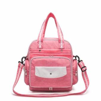 Diaper Bag Mommy Bag Nappy Backpack Changing Bag Shoulder Bag SlingBag Multifunction Baby Bottle Holder Bag