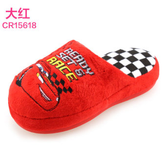 Disney boy's car winter baby slippers cotton slippers