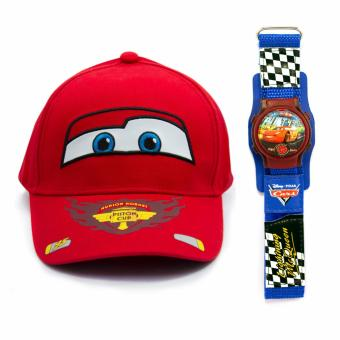Disney Cars Cap & Bubble Watch