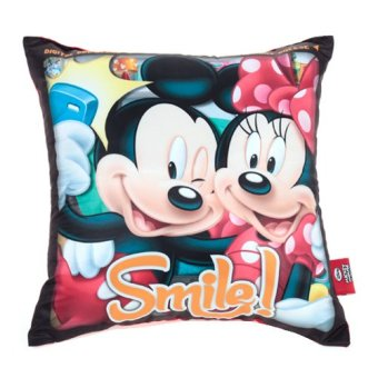 Disney Mouse Couple Shot Throw Pillow