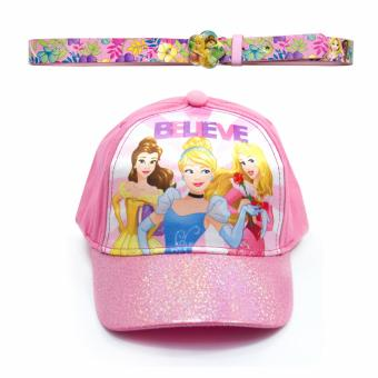 Disney Princess Satin Cap & Fashion Belt
