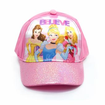 Disney Princess Satin Cap & Fashion Belt - 3
