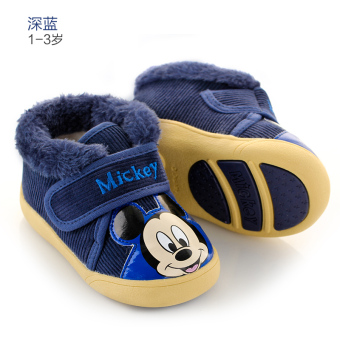 Disney soft bottom boy's girls casual shoes Baby Shoes