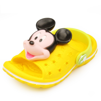 Disney summer baby slippers boy's sandals and slippers shoes