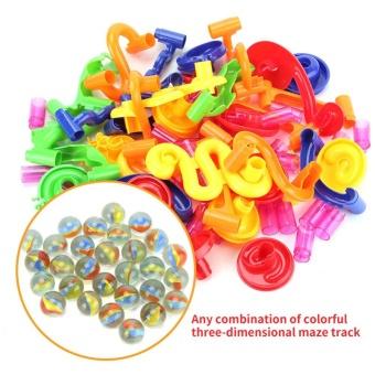 DIY Construction Marble Race Run Maze Balls Track Building BabyGift Educational Toy - intl - 3