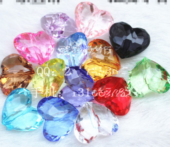 DIY plastic multi-color gem imitation crystal toy