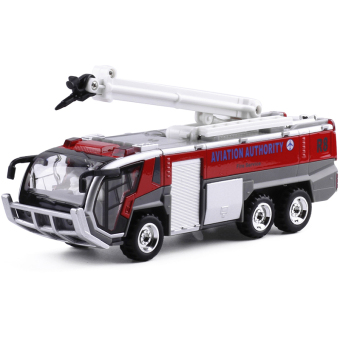 Diyaduo airport fire truck children's toy car metal car
