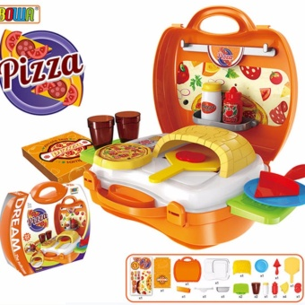 Dream The Suitcase Pizza Cooking Play Set