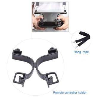 Drone Remote Controller 7.9/9.7inch Tablet Bracket Holder For DJI SPARK MAVIC PRO(Black) - intl
