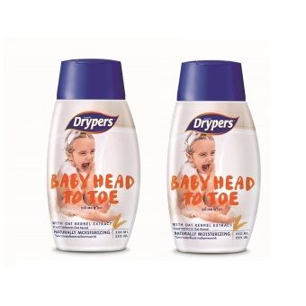 Drypers Baby Head to Toe 220ml Pack of 2 Price Philippines