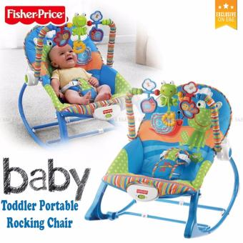 E&E Fisher-Price 0306 Infant to Toddler Rocker(Blue)