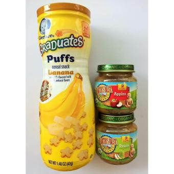 Earth's Best Organic Baby Food and Gerber Graduate Puffs Bundle Price Philippines