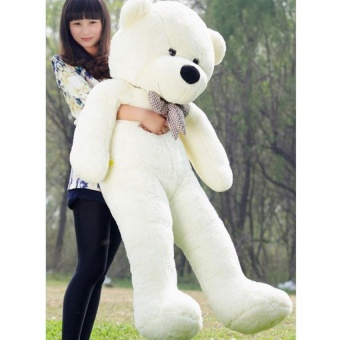 Eason 60cm Fluffy toys Plush Cloth Doll Toy Plush Stuffed AnimalsGiant Teddy Bear Toys (White) Hot Sale - intl